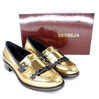 STRATEGIA Damen Schuhe Loafer Halbschuhe TOKYO Rosa Leder Glanz NP 239