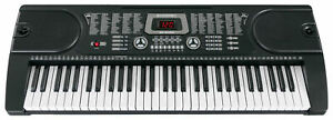 Digital 61 Tasten Keyboard E-Piano Klavier 255 Sounds Rhythmen Lern Funktion LCD