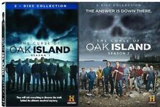 The Curse of Oak Island Complete Season 1 One & 2 Two (DVD,WS, 4-Disc Set) NEW