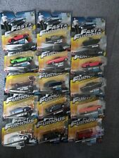fast & furious mattel diecast cars ×15