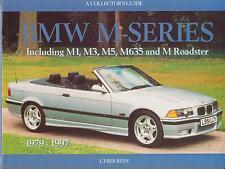 BMW M1 M3 (E30 E36) M535i M5 (E28 E34) M635CSI Z3M' 79-Desarrollo libro de historia