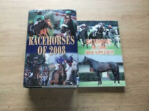 """TIMEFORM """"RACEHORSES OF 2008"""" MINT WITH A MINT IRISH SUPPLEMENT"""