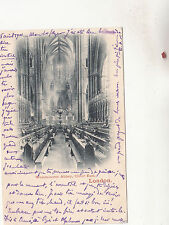 BR80144 tewkesbury abbey memorial tablet to mrs craik postcard  uk