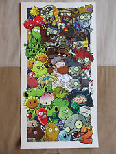 Plants vs. Zombies 2 Official PopCap Glow-In-The-Dark Promotional Poster