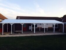 Commercial School Walkway Smoking Shelter Outdoor Eating Canopy Cover Shelter