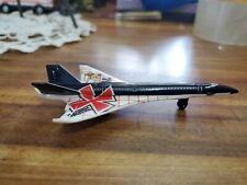 Matchbox Sky Busters METAL Hypersonic Jet  RARE Mattel Diecast treasure hunter
