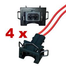 Pluggen injectoren - BOSCH EV1 LOW met kabel (4 x FEMALE) verstuiver plug auto