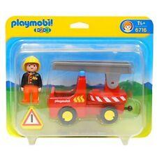 PLAYMOBIL 6716 Camion de Bomberos de 1,2,3 especial para Niños Pequeños NUEVO