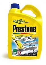 Prestone 4L Antifreeze Engine Coolant 4 Litre Ready To Use 50/50 RTU Anti Freeze