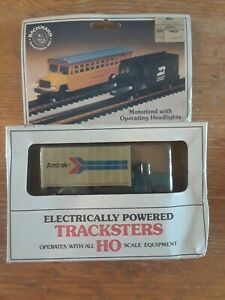 New Bachmann Tracksters HO Scale Powered Motorized AMTRAK truck - New Old Stock