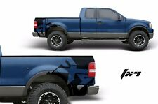 Custom Vinyl Rear Decal FX4 Wrap Kit for Ford Truck F-150 2004-2008 Matte Black