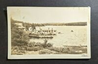 Vintage Bayville Maine View of Water RPPC Cover to West Yarmouth MA