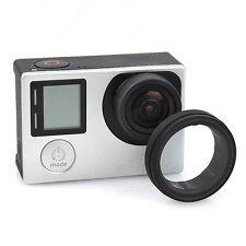 Für GoPro HD Hero 3 3+ 4 Kamera  klare Glas UV Objektiv Abdeckung Cap Protector