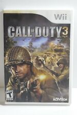 Call of Duty 3 (Nintendo Wii, 2006) COMPLETE