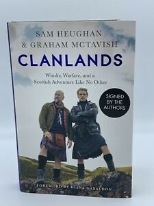 Clanlands Book-Signed by Sam Heughan & Graham McTavish