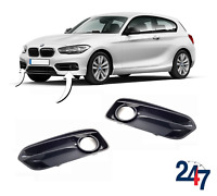 NEW BMW 1 SERIES F20 F21 LCI FRONT BUMPER SPORT FOG LIGHT GRILL COVER PAIR SET
