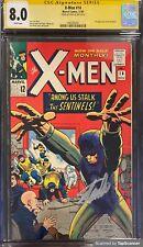 X-MEN #14 CGC 8.0 Ss STAN LEE 1965 1ST APPEARANCE THE SENTINELS ORIGIN: ANGEL