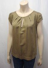 Damenblusen,-Tops & -Shirts im Tuniken-Stil mit Rundhals und Baumwollmischung ohne Mehrstückpackung