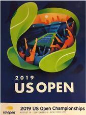 2019 US OPEN TENNIS PROGRAM MAGAZINE NADAL FEDERER WILLIAMS EVERT SHARAPOVA