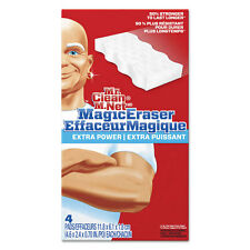 "Mr. Clean Magic Eraser Extra Power 4 3/5"" x 2 2/5"" 4/Box 82038"