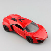 1/32 scale jada fast and furious Lykan HyperSport race Car Diecast Toy model kid