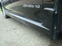 FITS TOYOTA CAMRY RIGHT SIDE SKIRT, SK36, SPORTIVO, 08/02-05/06