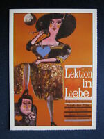Filmplakatkarte cinema  Lektion in Liebe   Ingmar Bergman