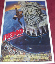 Cinema Poster: REMO THE ADVENTURE BEGINS 1985 (One Sheet) Fred Ward