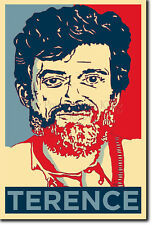 TERENCE MCKENNA ART PHOTO PRINT 3 POSTER GIFT (BARACK OBAMA HOPE PARODY)