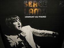 SERGE LAMA ~ L'Enfant Au Piano lp 1977 French RARE + Bonus NEAR MINT