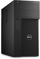 Dell Precision 3620 Intel i7-6700 Quad Core 16GB 256GB SSD+2TB win 10 WIFI