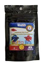 Northfin Food Betta Bits Formula premium fish food 1Mm Pellet 20 Gram Package