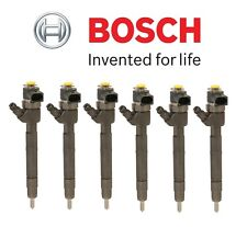 Mercedes W221 E320 Diesel Set of 6 Fuel Injectors Assies OEM Bosch 0-445-110-193