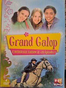 DVD Grand galop Intégrale saison 2 4 DVD