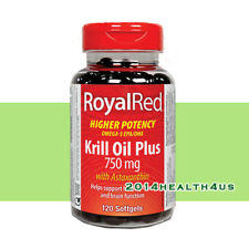 Webber Naturals - RoyalRed Krill Oil Plus 750 mg with Astaxanthin, 120 softgels