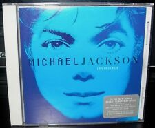 MICHAEL JACKSON INVINCIBLE BLUE COVER CD YOU ROCK MY WORLD BUTTERFLIES CRY