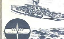 "Do X DORNIER Wal / Romar FLUGBOOT Entw./ WD Schlepper  in ""ENERGIE"" Report 1929"