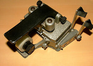 CIR CATOZZO MODEL M3 SPECIAL 16mm TAPE FILM SPLICER -  FULLY WORKING RACK#721