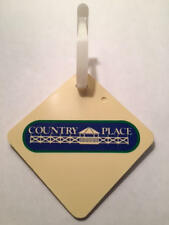 Vintage Rare 1980's Country Place GC Golf Bag Tag - Pearland, Texas - A Beauty!