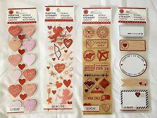 Martha Stewart Crafts VALENTINE THEME STICKERS - Various Styles - NEW in Package