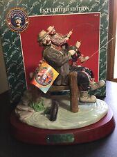 Flambro Emmett Kelly Jr Ekj Clown Figurine Catch Of The Day