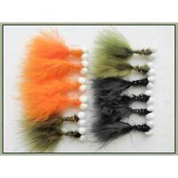3 X Biscuit Boobies Wet Trout Flies Sizes 10,12 Fishing Flies