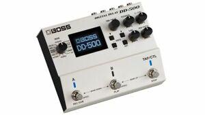 BOSS DD-500 DIGITAL DELAY programmabile Roland pedale effetto X CHITARRA,nuovo!