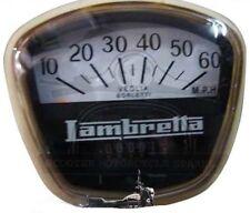 LAMBRETTA GP SX Speedometer 60 MPH Italian Thread GEC