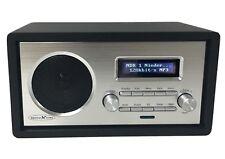 Reflexion HRA1260i Retro Design WLAN Internet Radio Black Aux/Kopfhörer Anschluß