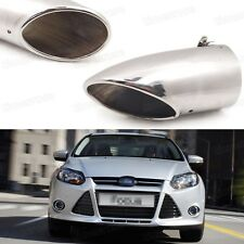 Silver Car Exhaust Muffler Tip Tail Pipe End Trim for Ford Focus 2011-2016 #1072
