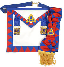 Royal arch provincial apron and sash
