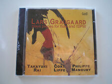 LARS GRAUGAARD PIECES FOR FLUTE AND ISPW CD CLASSICO RAI LIPPE MANOURY