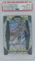 ROOKIE! 2017-18 Lauri Markkanen Prizm Fast Break RC/AUTO! PSA 10/10! POP 3!