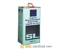 ATE Chemical Item Brake Fluid DOT 4 - 5 Liter fits 2002-2009 Mini Cooper  FBS